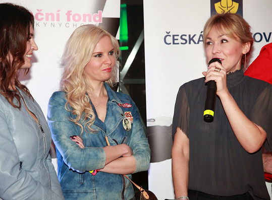 Na akci dorazily i Kateřiny Kristelová a Herčíková
