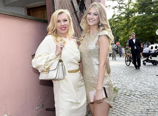 Se svojí šéfkou z Fashion TV Gabikou Drobovou