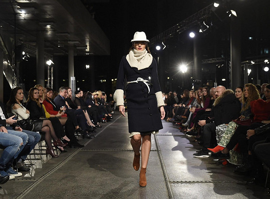 Nikol předváděla na Ostrava Fashion Weekendu.