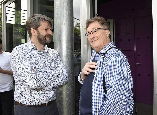 Ulm s televizním režisérem Rudolfem Merknerem