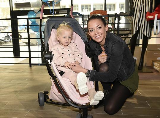 Agáta Prachařová s dcerou Miou