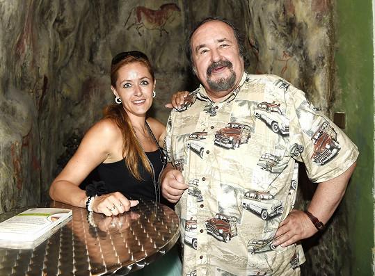 Petr Novotný s dcerou Lenkou