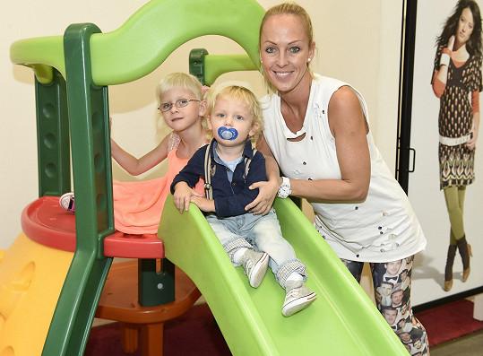 Zuzana Belohorcová se pochlubila krásnou rodinkou.