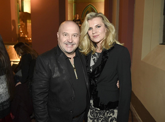 Michal s kolegyní Leonou Machálkovou