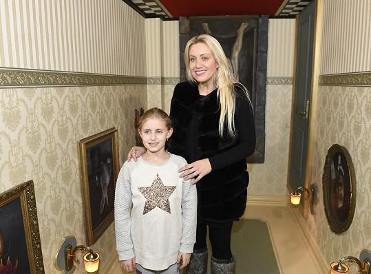 Tereza Mátlová s dcerou Emily