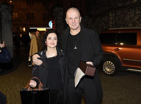 Lucia Šoralová s manželem Ondřejem Soukupem