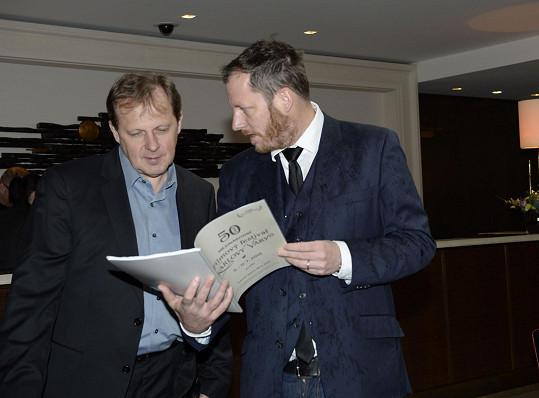 Nejbližší spolupracovník Jiřího Bartošky Kryštof Mucha s ředitelem České televize