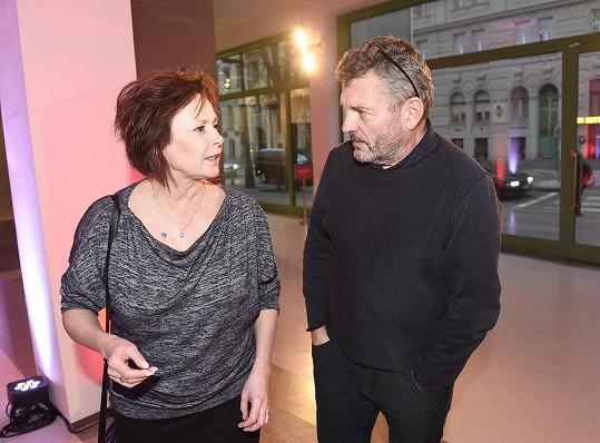 Krásných chlapů je podle ní mezi herci málo, kolega Jiří Štrébl je výjimkou.