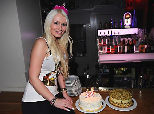 Takhle Eva oslavila 25. narozeniny.