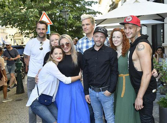 Finalisté SuperStar se nedávno sešli v Praze.