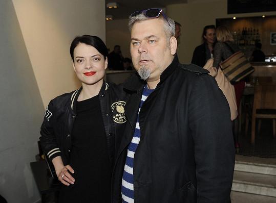 Jana Stryková s režisérem filmu Tomášem Svobodou