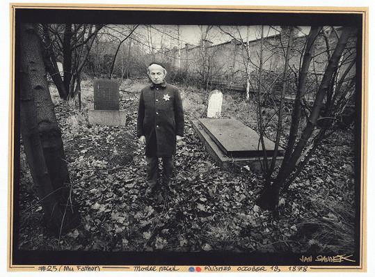 Fotografův otec Gustav Saudek