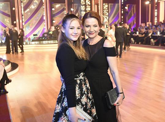 Jolana Voldánová vyrazila na StarDance se svou dcerou.