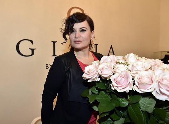 Jitka Čvančarová přišla obdivovat šperky Pavlíny Němcové.