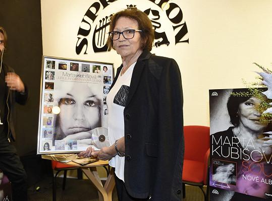 Marta Kubišová vydala novou desku Soul.