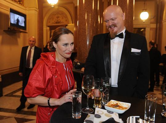 Lucie s manželem Jaroslavem Pořízem