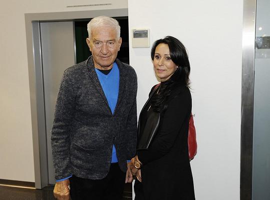 Heidi Janků s manželem Ivo Pavlíkem