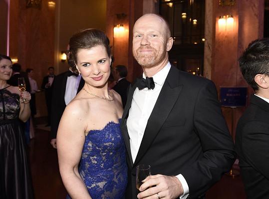 Aneta Stolzová s manželem Alanem