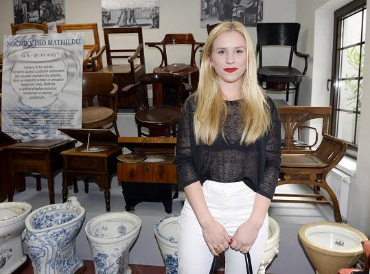 Marianu jsme potkali na netradičním místě - v muzeu nočníků a toalet.