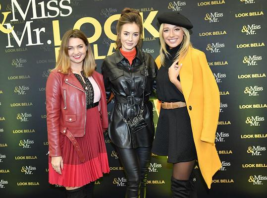 Nikola s blogerkou Nikolou Trojanovou a modelkou Zuzanou Strakovou na castingu.