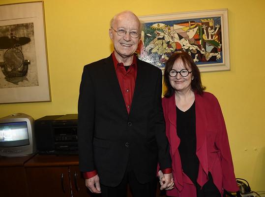 Michael Kunze s manželkou