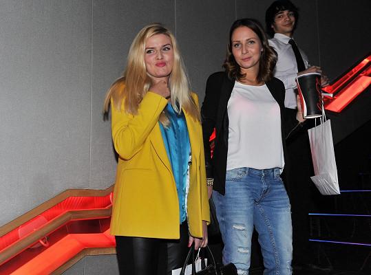 Nikol Štíbrová s kamarádkou Veronikou Arichtevou si nenechaly ujít skvělé sci-fi.
