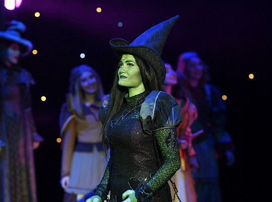 Elphaba v muzikálu Čarodějka má jeden z nejnáročnějších muzikálových partů vůbec.
