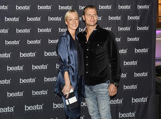S manželem Vlastou vyrazili na přehlídku Beaty Rajské...