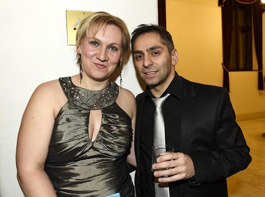 Vlasta Horváth s manželkou Markétou