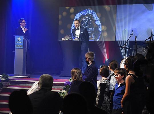 Petr Kubík dostal za fantasy pohádku Princezna zakletá v čase cenu Trilobit od dětské poroty.