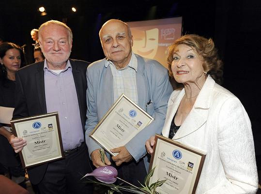 Umělecké sdružení ARTES udělilo ceny Mistr zábavního umění, toto jsou někteří z jejich laureátů.