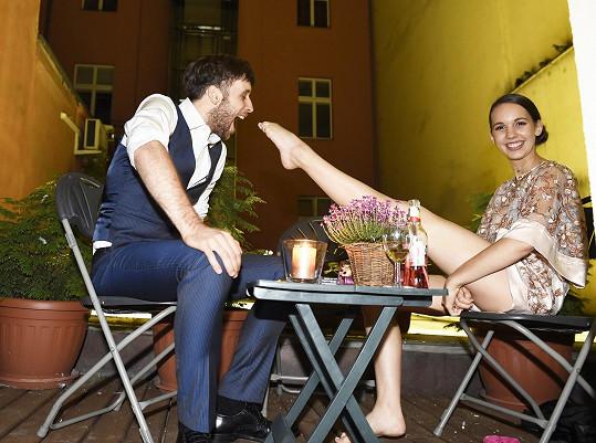 Míša s manželem Romanem