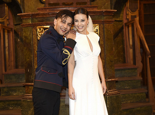 S kolegou Honzou Bendigem točila video o lásce, dokonce ve svatebním, ale to už byla po rozchodu.