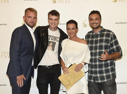 S Liborem Boučkem, Veronikou Farářovou a zpěvákem Nikem