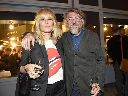 S architektem bistra Jaromírem Pizingerem, exmanželem Báry Basikové