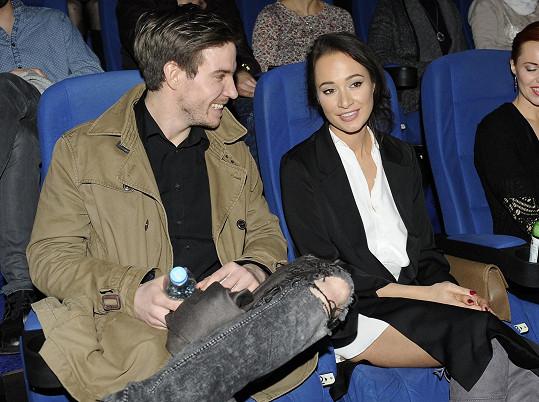 Karolína s Vladimírem Polívkou