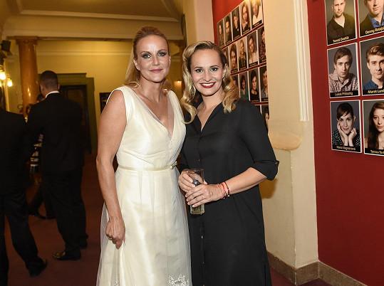 S Vendulou Pizingerovou po vystoupení