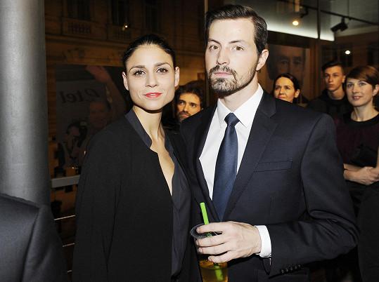 Lilian Sarah Fischerová s přítelem Michalem Vykusem.