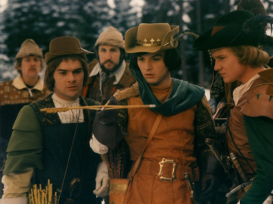Pavel ještě jako mladík hrál v Třech oříšcích pro Popelku prince.