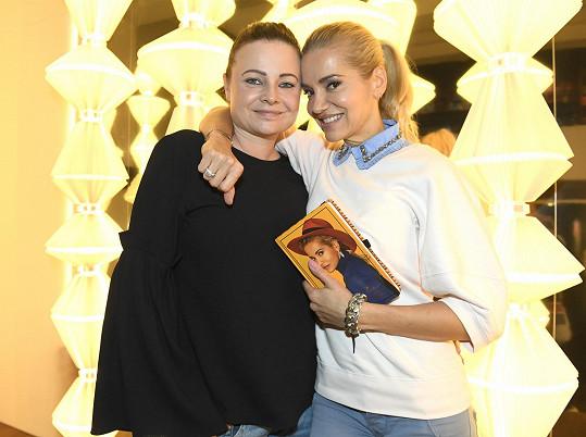 S jídelníčkem jí pomáhá kamarádka Katka Prokšová.