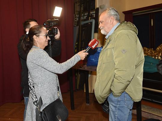 Richard při rozhovoru se Super.cz