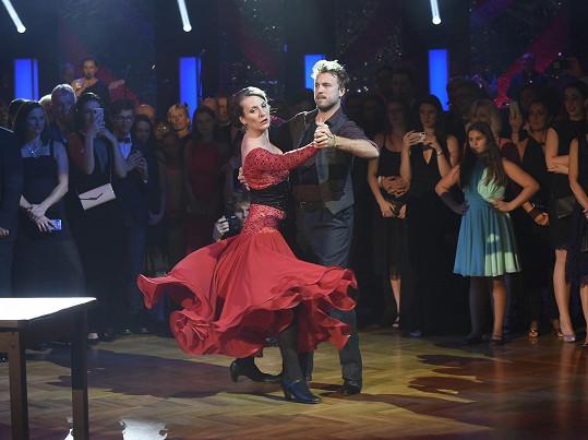 Herečka a tanečník Michal Kurtiš se do sebe zamilovali během StarDance v roce 2013, kterou vyhráli.