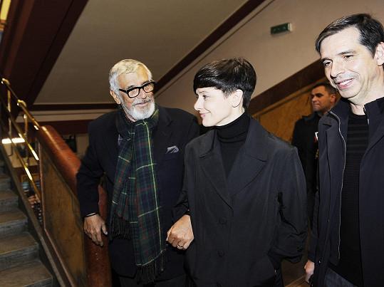 Navštívil premiéru snímku Ztraceni v Mnichově.