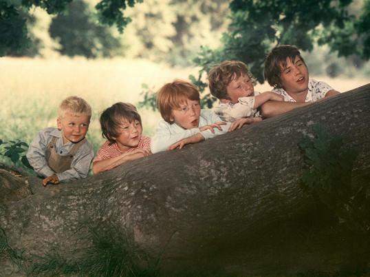Tomáš ve filmu Ať žijí duchové (1977).