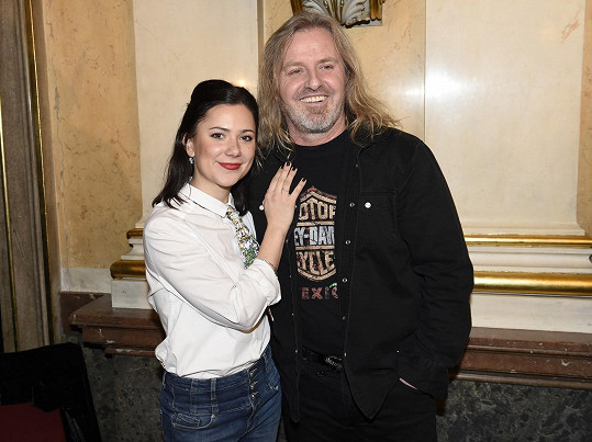 S divadelním kolegou z Mefista Pepou Vojtkem.