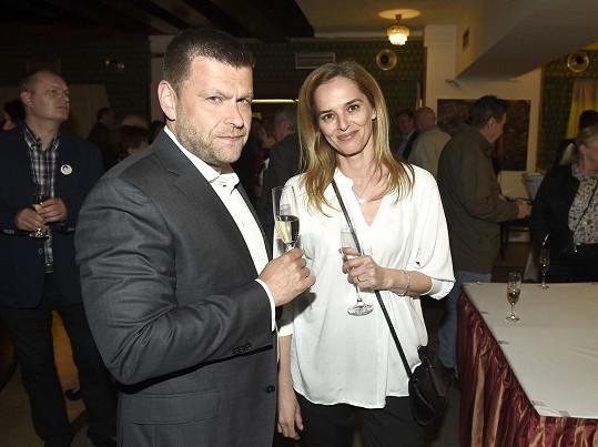 Moderátorka Světlana Witowská se s manželem Petrem rozvedla začátkem roku.