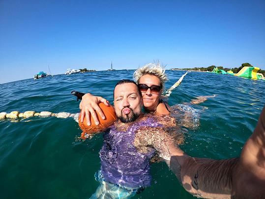 Na dovolenou vyrazili do Chorvatska.