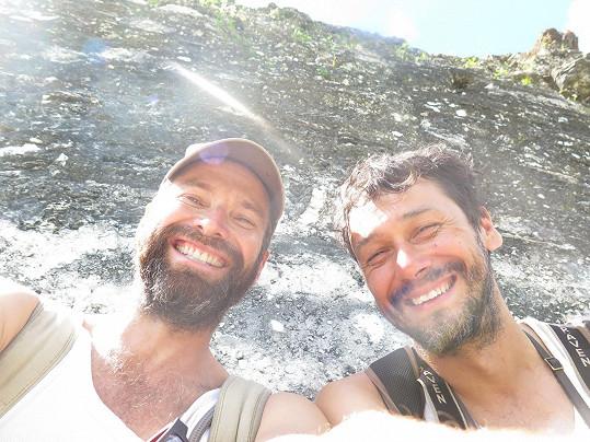 Honza s Pavlem na cestě střední Amerikou natáčeli dokument Vandráci.
