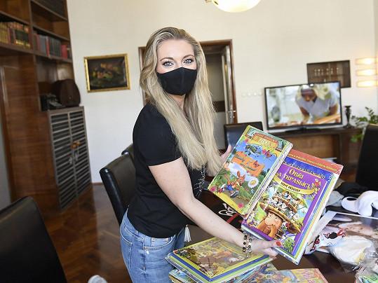 Lucie se snaží pomáhat skrz svůj nadační fond LuckyBe.