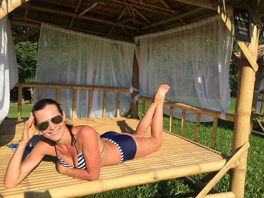 Jana Doleželová si užívá dovolenou v Rakousku,